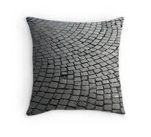 Cobbled Shine Throw Pillow