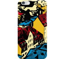 Old red roofs of the European city iPhone Case/Skin