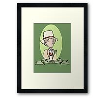 The Celery Doctor Framed Print