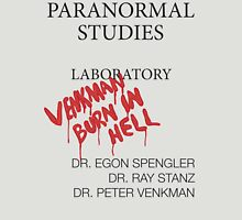 Paranormal Studies Laboratory - Ghostbusters Unisex T-Shirt