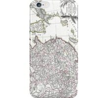 Map of China, Korea, Japan and Formosa - Bonne - 1770 iPhone Case/Skin