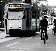St Kilda Road, Midday by sebastian