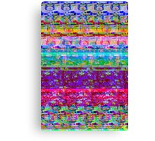 Glitch 001 Canvas Print