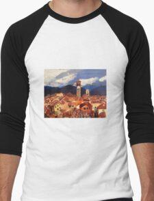 Lucca, Italy Men's Baseball ¾ T-Shirt