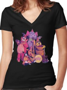The Banana Splits Women's Fitted V-Neck T-Shirt