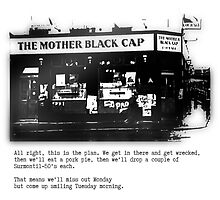 The Mother Black Cap by Rebel Rebel