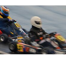 Wet Kart Photographic Print