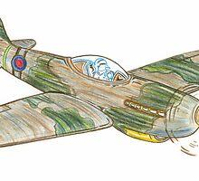 Pocket Rocket Spitfire by bigjninja
