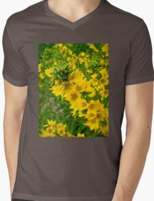 Small Yellow flowers Mens V-Neck T-Shirt