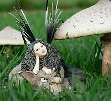 Faerie Folk & Toadstools II by louisegreen