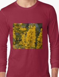 Small Yellow flowers 3 Long Sleeve T-Shirt