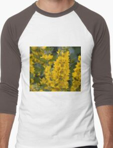 Small Yellow flowers 3 Men's Baseball ¾ T-Shirt