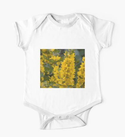 Small Yellow flowers 3 One Piece - Short Sleeve
