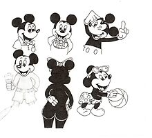 Mickey Collage by bigjninja