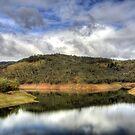 Kangaroo Creek Reservoir, South Australia by Steve Arkleton