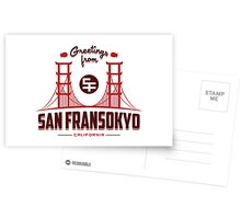 Greetings from SF Postcards