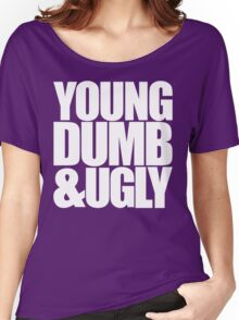 Weird Al - Young Dumb & Ugly (in White) Women's Relaxed Fit T-Shirt