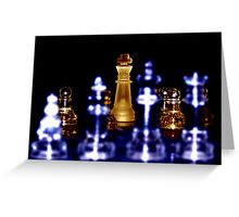 Depth of Chess Greeting Card