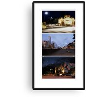 Melbourne Icons - City Views Canvas Print