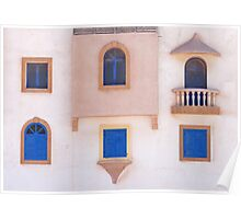 5 windows and a balcony Poster