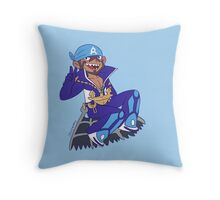 Pokemon - Aqua Leader Archie Throw Pillow