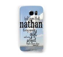 Nathan Samsung Galaxy Case/Skin