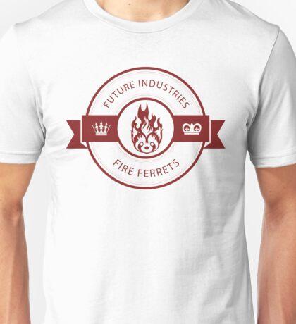Vintage Future Industries Fire Ferrets Logo Color Unisex T-Shirt