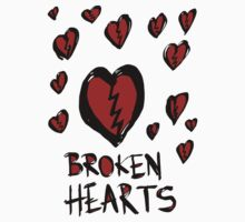 Broken hearts Kids Clothes