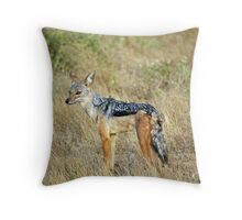 Jackal Throw Pillow