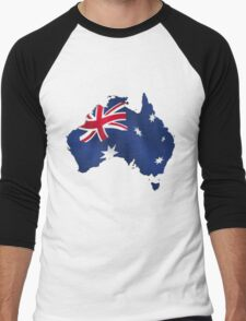 Australia Day Men's Baseball ¾ T-Shirt