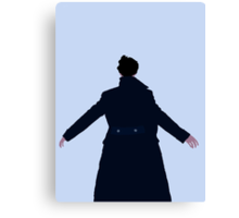 Sherlock The Reichenbach Fall Canvas Print