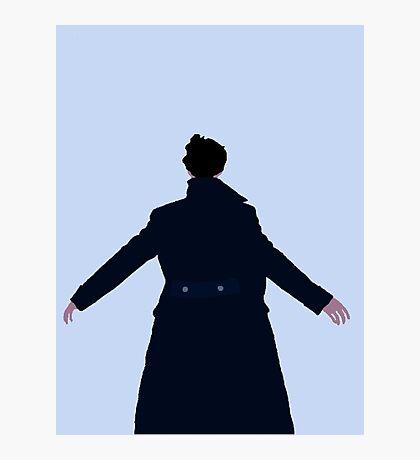 Sherlock The Reichenbach Fall Photographic Print