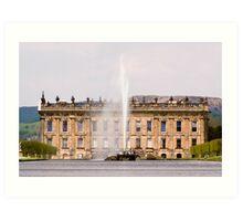 Chatsworth House Art Print