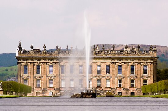 Chatsworth House by Steven  Lee
