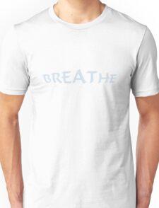 Breathe_blue Unisex T-Shirt