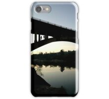 Evening on the Bridge iPhone Case/Skin