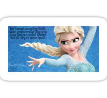 Elsa/Elphaba Sticker