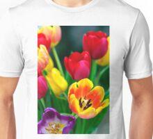 Colourful Tulips Unisex T-Shirt