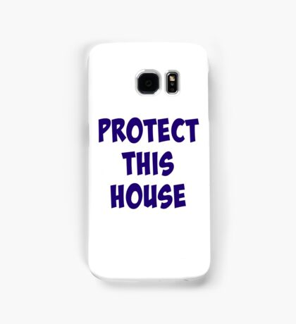 Protect This House Samsung Galaxy Case/Skin