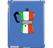 italian coffeepot iPad Case/Skin