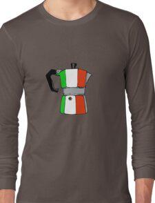 italian coffeepot Long Sleeve T-Shirt