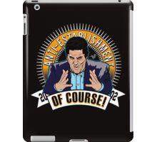 OF COURSE CENK by Tai's Tees  iPad Case/Skin