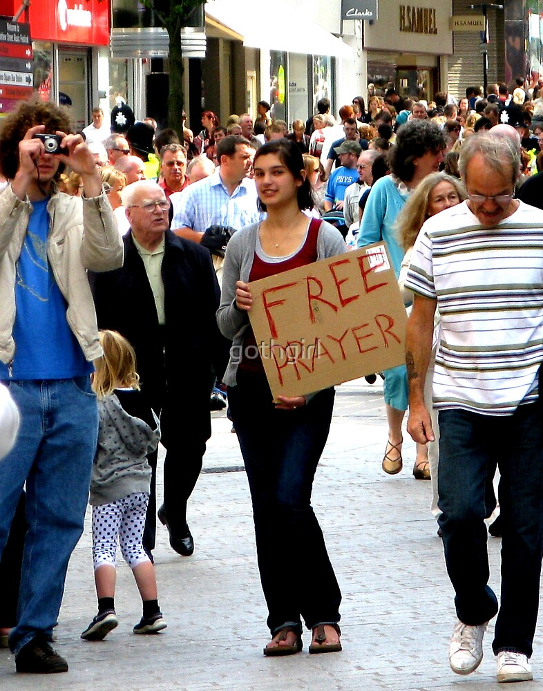 Free Prayer by gothgirl