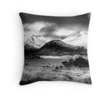 Blackmount Throw Pillow