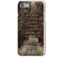 The Lord directs our steps-Psalm 37:23 iPhone Case/Skin