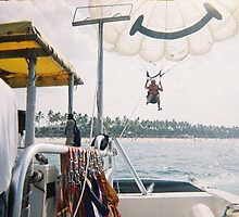 Parasailing in Punta Cana, Dominican Rep by chord0