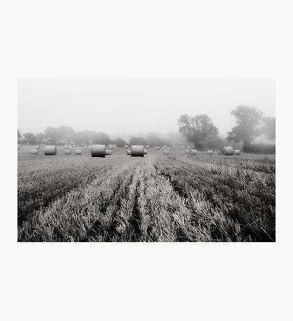 Foggy and Dull Photographic Print