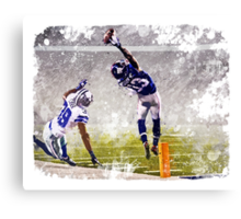Odell Beckham Jr Catch Canvas Print