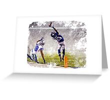 Odell Beckham Jr Catch Greeting Card