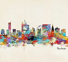manchester skyline by bri-b